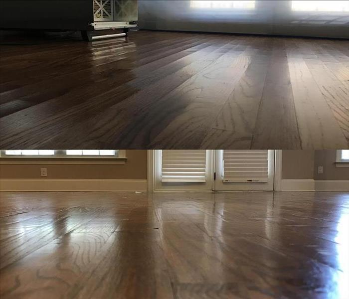 Water Damage Restoring Hardwoods